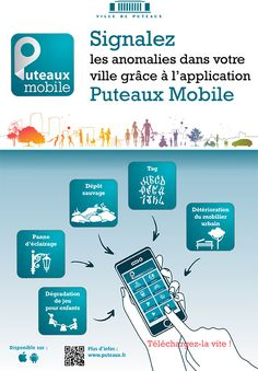Campagne pour l'application Puteaux Mobile