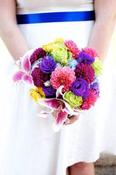 Erin's wedding bouquet