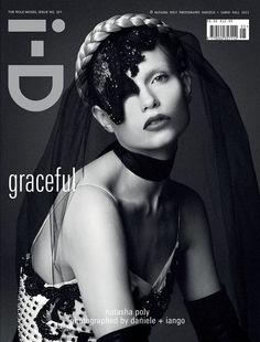 #Russian #model #NatashaPoly for i-D Magazine Fall 2012