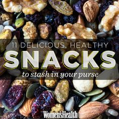 11 pack-and-go healthy snacks: http://www.womenshealthmag.com/nutrition/healthy-on-the-go-snacks?cm_mmc=Pinterest-_-womenshealth-_-content-food-_-pursesnacks