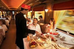 Enjoy a romantic train journey replete with the pleasures of fine dining and royal living with luxury trains for honeymoon. Trains, Train Tour, India Tour, Travel Reviews, Train Journey, Ways To Travel, Vacation Packages, Train Travel, Adventure Is Out There