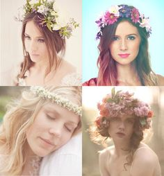 DIY flower crown + tutorial