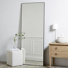 Chiltern Thin Metal Full Length Mirror is part of Home Accessories Bedroom Mirror - Chiltern Thin Metal Full Length Mirror Mirrors Home Accessories Home The Decor, Room Inspiration, Mirror Wall Decor, Furniture, Interior, Bedroom Decor, Home Decor, Room Decor, Full Length Mirror