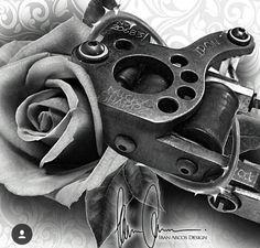 Gangsta Tattoos, Badass Tattoos, Body Art Tattoos, Flesh Tattoo, Tattoo Pain, Tattoo Studio, Chicano Style Tattoo, Rose Reference, Eye Drawing Tutorials