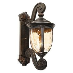 """Bellagio Collection 24"""" High Outdoor Wall Light - #40276 
