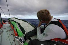 Martin Krite / Leg 6 - Day 5 / Groupama in the Volvo Ocean Race / Credit : Yann Riou