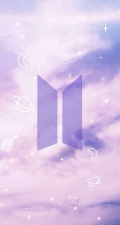 I purple you bts and army Army Wallpaper, Galaxy Wallpaper, Bts Wallpaper, Aesthetic Iphone Wallpaper, Aesthetic Wallpapers, Bts Army Logo, Kpop Backgrounds, Bts Pictures, Photos