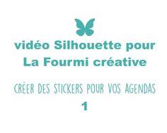 Stickers pour planner 1 avec la Silhouette