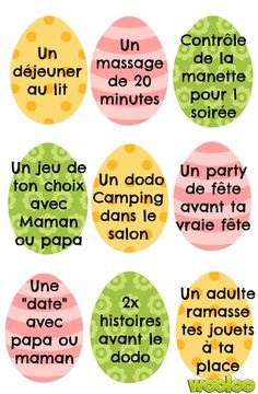 coupons privilèges pour oeufs de Pâques wooloo Sensory Activities, Activities For Kids, Chore System, Tiny Tattoos For Girls, Parenting Hacks, Scrapbooking Layouts, Diy For Kids, Coupons, Routine