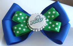 Florida Gulf Coast University Eagles Blue and Green by bowsforme, $5.99