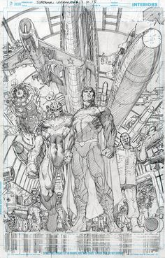Superman Unchained by Jim Lee *