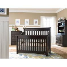 Dream on Me Evolur Avery 5-in-1 LifeStyle Convertible Crib