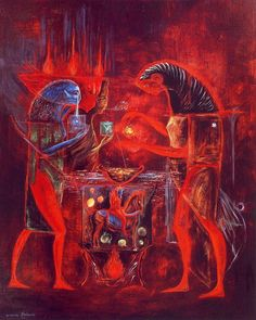 Leonora carrington: the last surviving surrealist - artists inspire artists Le Kraken, Magic Realism, Mexican Artists, Max Ernst, Art Moderne, Outsider Art, Fantastic Art, Art Studies, Monster