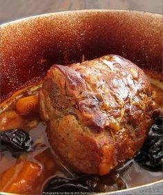 Rôti de porc en cocotte fondant et juteux, cuisson douce {2 heures}