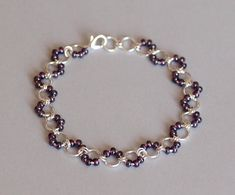 "SIZING -Will comfortably fit a 8.5"" (21.59 cm) to 9 (22.86 cm) ankle -Anklet size is easily adjustable, please contact me *prior* to purchase if you would like a different size SHIPPING This anklet is ready to ship! All anklets ship carefully packaged in a padded envelope. I ship from"