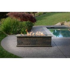 outdoor fireplace kits gray - Google Search