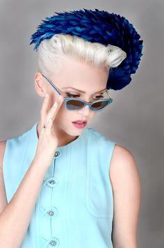 vintage look, hair and photography by David Barron @ Barron Salon