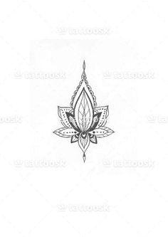 Lotus Flower Lotus Flower wer ❥❥❥ https://tattoosk.com/lotus-flower-3