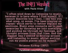 True. When I am angry or stressed I drive around listening to music that reflects what I'm feeling... mcr