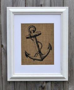 Nautical Wall Art| Anchor Art