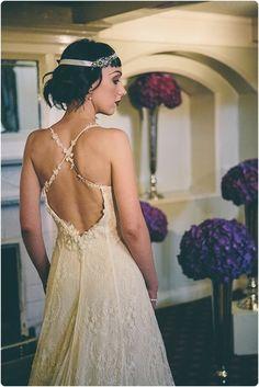 1920s Styled Bridal Shoot At The Bowdon Rooms