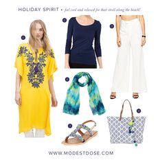 We are in the holiday vibe! Our OOTD to keep you cool and relaxed!
