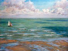 Gustave Caillebotte-Seestück,  Regatten