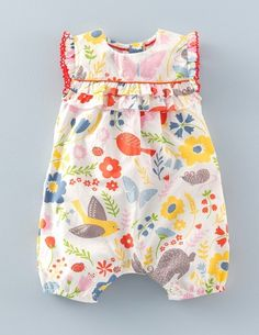 Pretty Playsuit 72164 Rompers & Play Sets at Boden