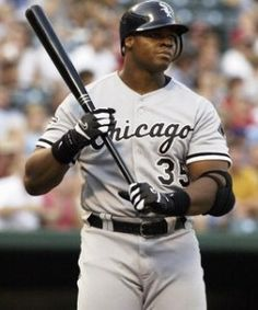 Big Hurt. Frank Thomas. The best White Sox player that ever was and now an official member of the MLB Hall of Fame.