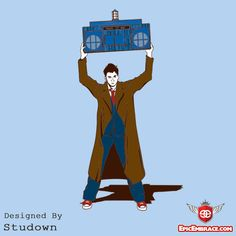 When I want to run away, I ride off in my TARDIS, but whichever way I go I come back to the place you are... dis.
