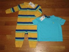 Baby Boy's 9 months  Polo items, new with tags !