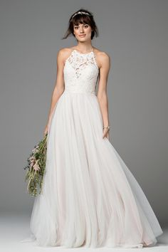 Willowby by Watters Esperance 58701 Flowy Wedding Dress – Wedding Gown How To Dress For A Wedding, Top Wedding Dresses, Wedding Dress Trends, Wedding Dress Shopping, Wedding Dress Sleeves, Designer Wedding Dresses, Bridal Dresses, One Shoulder Wedding Dress, Wedding Gowns