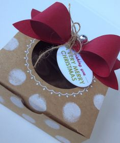 Margriet Creatief, Stampin´ Up!, Wishing You, Big Bow Die, Decorative Window Box
