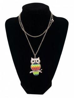 Owl necklace - Náhrdelník sova / želva   Bižuterie Kozák