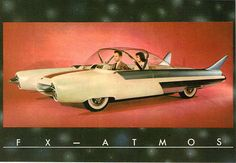 1950s Ford FX Atmos Concept Rendering