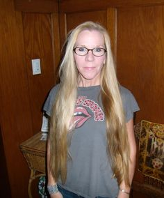 Exactly 50 yrs old - long hair, hell yeah!