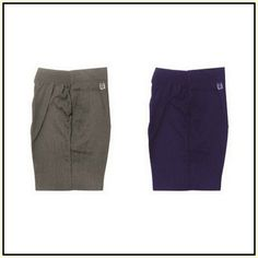 Boys Uniform Shorts Elastic Waist