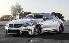 Impressive Wrap, tuning, BMW M4, F82, supercars, silver m4, BMW