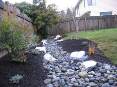 Drainage Ideas For Backyard best 20 drainage solutions ideas on pinterest yard drainage drainage ideas and stream bed Drainage Trench Becomes A Stream Backyard Designsbackyard