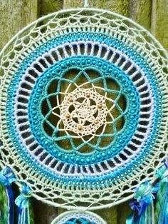 30cm Crochet Mandala Wallhanging