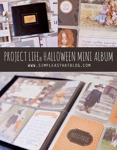 Project Life® Halloween Mini Album. #halloween #projectlife