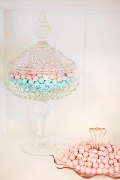 Antique candy bowls