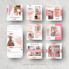 Instagram Frame, Instagram Design, Instagram Story Ideas, Instagram Feed, Retro Logos, Vintage Logos, Social Media Design, Banner Template, Branding