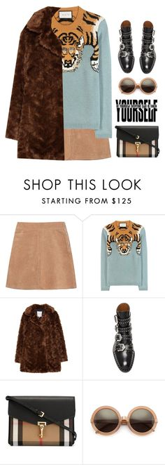 """""""Untitled #479"""" by ino-6283 ❤ liked on Polyvore featuring See by Chloé, Gucci, Zara, Givenchy, Burberry and Wildfox"""