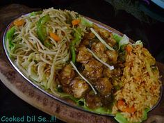 Chinese Manchurian Sizzler