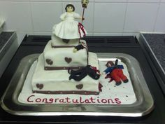 Divorce cake for my sis-in-law