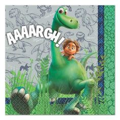 16 The Good Dinosaur Party Beverage Napkins/Dinosaur Party Supplies/Boys B Days Dinosaur Party Supplies, Baby Shower Party Supplies, Dinosaur Birthday Party, Birthday Parties, Birthday Celebration, 3rd Birthday, Online Party Supplies, Kids Party Supplies, Kids Party Themes