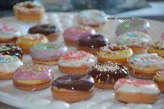 Mini-Omelett-Muffins - New Ideas - New Ideas Mini Donuts, Mini Cupcakes, Doughnuts, Beignets, Mini Desserts, Easy Desserts, Bubble Waffle, Eat Lunch, Paper Cupcake