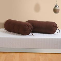 Bolster Cover-Brown Bolster Covers, Couch, Brown, Furniture, Home Decor, Settee, Decoration Home, Sofa, Room Decor