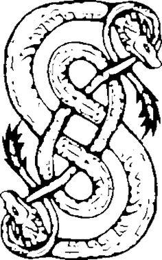 Norse Mythology Loki Symbol | Loki has Snakes! by AomiArmster